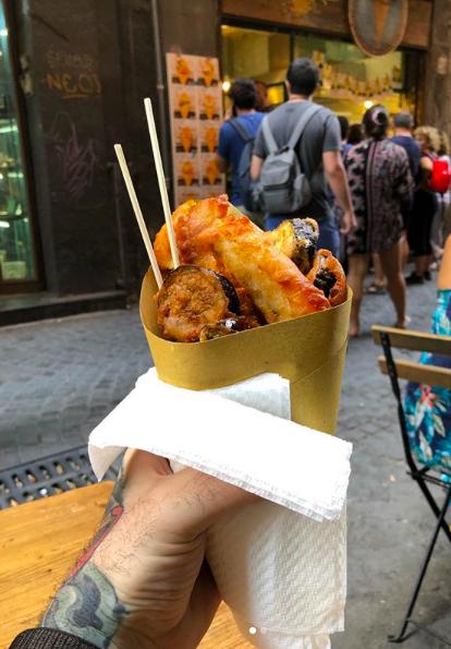 cuoppo fritto napoeltano | la Clandestina
