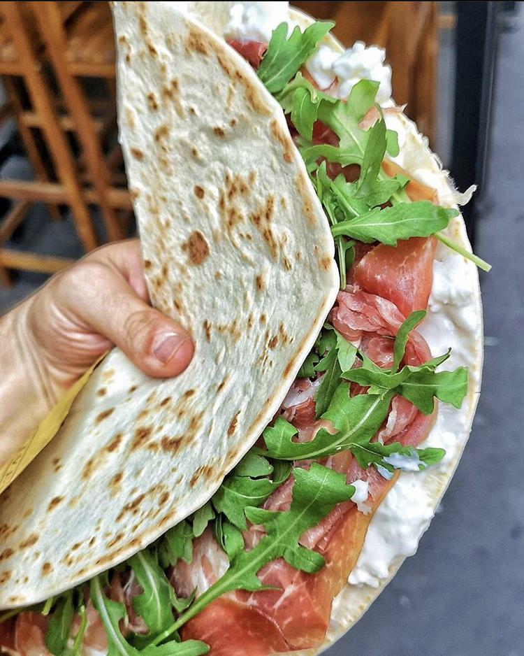 Tortilla Italiana: la Piadina