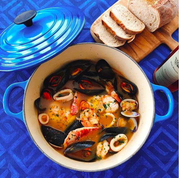 zuppa di pesce toscana   la Clandestina