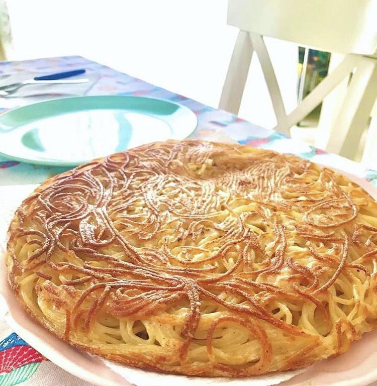 ¿Quieres probar una Tortilla de Pasta?