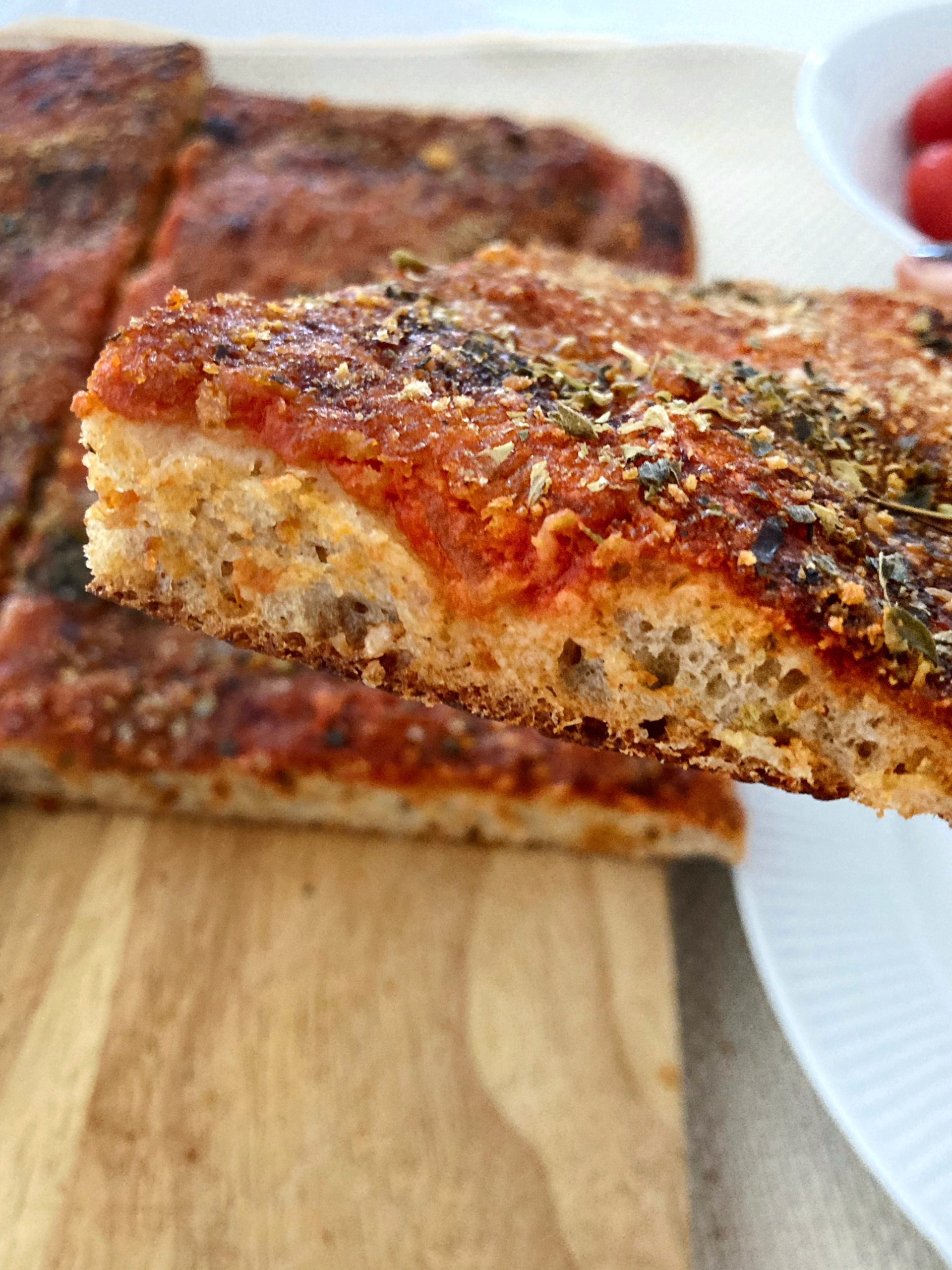 La receta original de la pizza de Sicilia, lo Sfincione