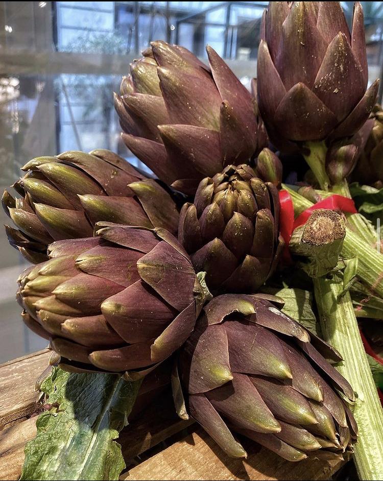 alcachofas de italia con espinas | la Clandestina