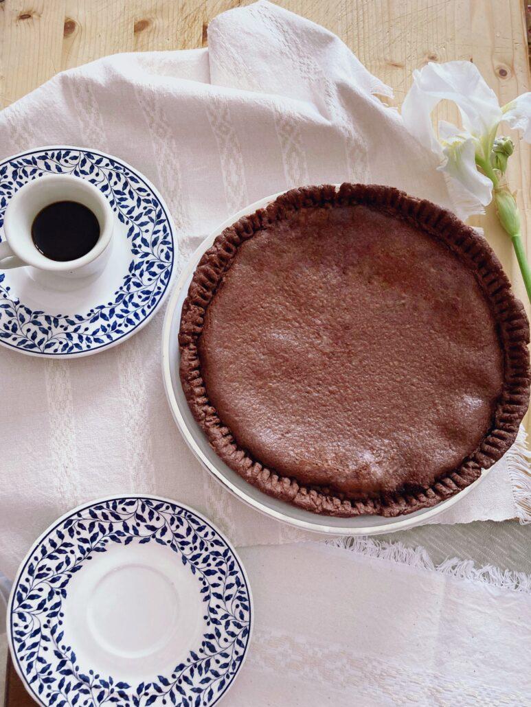 tarta de chocolate con queso fresco de ricotta | la Clandestina