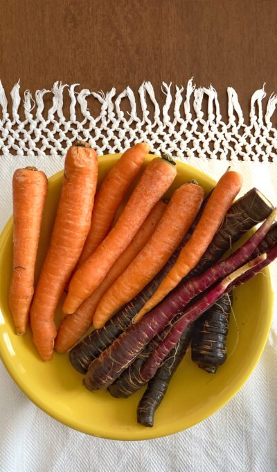 Receta saludable con las zanahorias