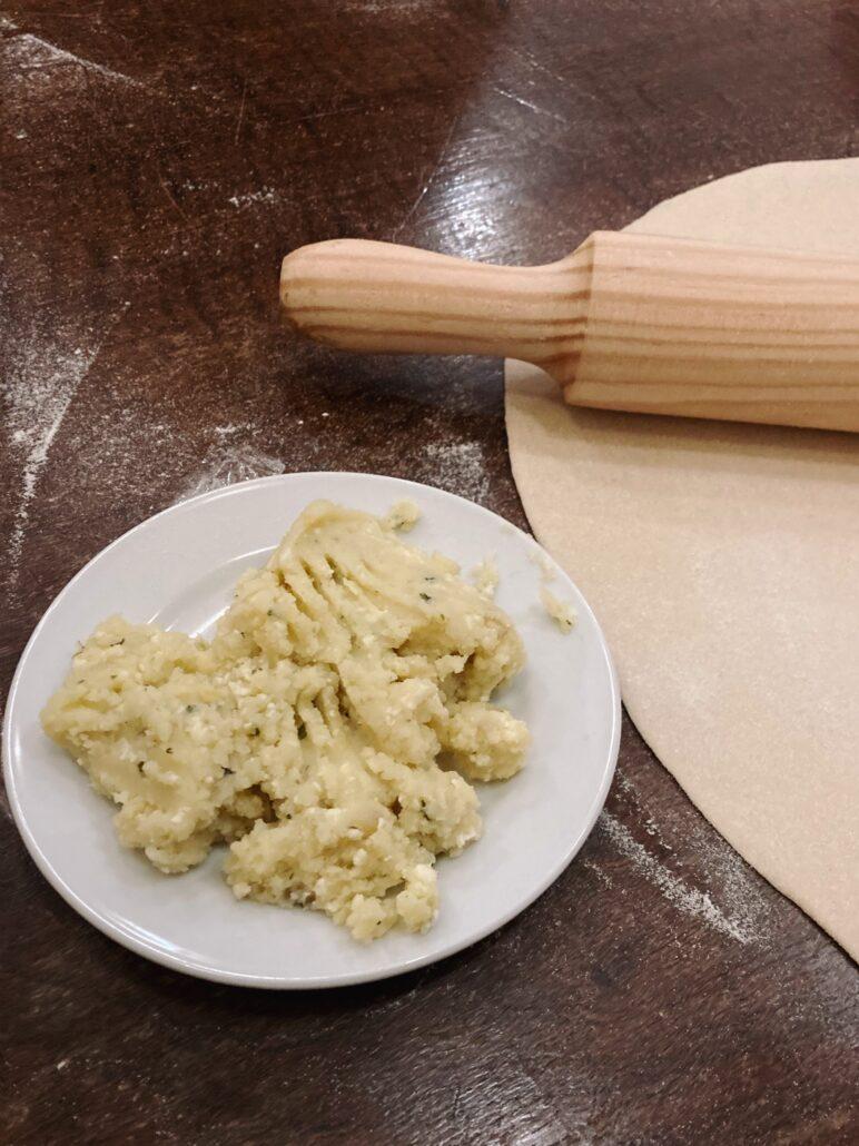 pasta rellena de Cerdeña| la Clandestina