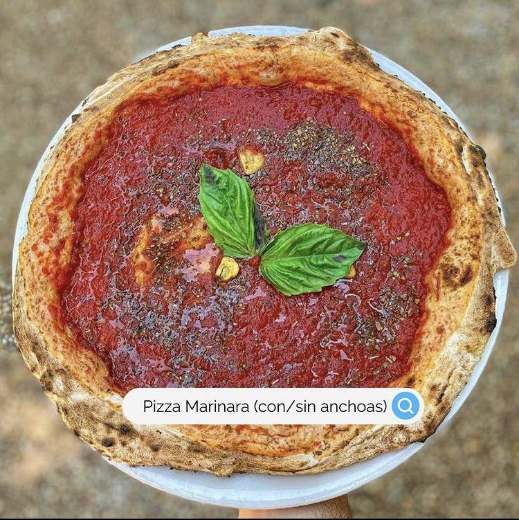 pizza sin quesos | la Clandestina